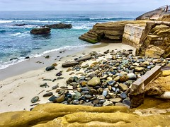 La Jolla Beach ((Jessica)) Tags: summer sand sandiego california lajolla beach ocean water landscape