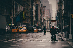Isn't it Great to be Alive (Dj Poe) Tags: nyc ny manhattan soho color tones candid cinematic cinema newyork newyorkcity sony canon sonyilce7rm2 canonef70200mmf28lisusm downtown 70200mm sonya7rii sonya7r2 people a7rii a7r2 street streets rain raining taxi cab cabbie yellowtaxi taxicab andrewbohrer 2016 djpoe broadway prince