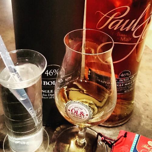 #whisky #fredagswhisky @fredagswhisky #pauljohn #indian @pauljohnindiansinglemalt