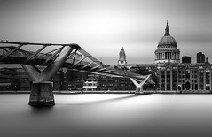 The High and The Mighty (TS446Photo) Tags: nikon religion supermoon tide river long exposure fineart london