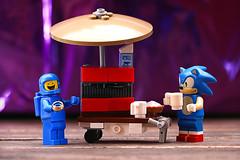 Coffee (Frost Bricks) Tags: lego sonic benny coffee