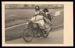 #Dutch Sinterklaas and his helper Zwarte Piet hit the road, 1947 [1500x964] #history #retro #vintage #dh #HistoryPorn http://ift.tt/2gYsqqS (Histolines) Tags: histolines history timeline retro vinatage dutch sinterklaas his helper zwarte piet hit road 1947 1500x964 vintage dh historyporn httpifttt2gysqqs