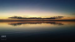 IJsselmeer sunset (Boudewijn Vermeulen ) Tags: ijsselmeer sunset bluehour clouds dijk dusk lelystad publ reflectie reflections sea seascape seaside weer wolken wolkenformatie zonsondergang