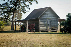 Farm shed - Townville S.C. (DT's Photo Site) Tags: farm pasture rural america pastoral vanishing landscape canon 6d 24105mml