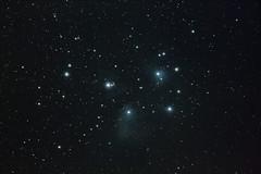 M45 - Pleiades (Tim Aldworth) Tags: hantsastro wo gtf81 canoneos7d eos7d 7d pleiades m45 messierm45 sevensisters