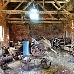 Maria Island. Old shed. Old stuff.