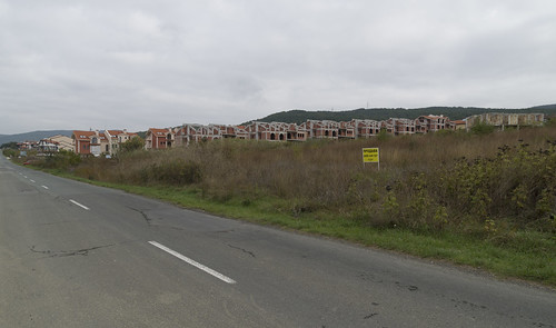 Unfinished residential houses, 09.10.2014.
