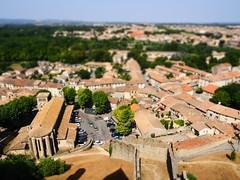 Miniature Carcassonne (M_Strasser) Tags: france frankreich olympus carcassonne tiltshift olympusomdem1