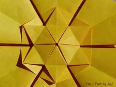 Shieled Star (4) by Jorge Jaramillo (esli24) Tags: stars origami sterne paperstars papierfalten carmensprung papiersterne jorgejaramillo juliaschönhuber esli24 ilsez kaleidoscopepaper kaleidoskoppapier shieldedstar
