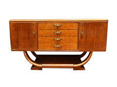 Art Deco Buffet Cabinet (Leo Cloma) Tags: art furniture antique auction philippines auctions filipino antiques salcedo cloma