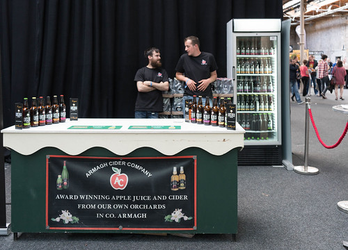IRISH CRAFT BEER FESTIVAL IN THE RDS LAST WEEKEND IN AUGUST 2015 [ARMAGH CIDER COMPANY] REF-107278