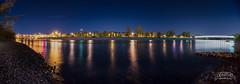 Sunnyside365_Day71 (ara_shimoon) Tags: bridge panorama calgary night river photo peace bow gazing navel sunnyside365