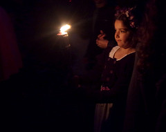 Candlelight: Ashmore Filly Loo (Jacqueline Ross) Tags: girl night midsummer dorset ritual candlelight ashmore fillyloo