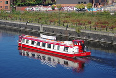 The L S Lowry at Pomona Dock, Manchester Ship Canal K__39804 (Mike07922, 2.8 Million+ Views - thanks guys) Tags: urban manchester canal pomona barge lowry castlefield manchestershipcanal pentaxk3