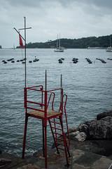 (Antonio_Trogu) Tags: sea italy water boats pier chair italia mare riva cloudy liguria barche quay wharf acqua portovenere seashore sedia molo laspezia nuvoloso banchina golfodeipoeti