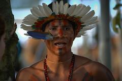 Manoki (guiraud_serge) Tags: brazil portrait brasil amazon indian tribe ethnic indien matogrosso indio labret brsil tribu amazonie amazone forttropicale ethnie kayapo kuikuro manoki metuktire gorotire plateaulabial hautxingu parcduxingu sergeguiraud artducorps ornementcorporel