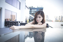 Ru event (Alphone Tea) Tags: life city travel light portrait woman sunlight black cute sexy girl beautiful lady wonderful dark print landscape evening amazing model eyes singapore colorful asia pretty slim dress photoshoot legs bright sweet bokeh modeling outdoor album great young makeup like event attractive handheld heel noon lovely shape sexylegs mbs facebook 6d marinabay 2015 2470 atphotography ef2470mmf28liiusm