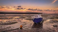 Susan Ann... (moraypix) Tags: lowtide findhorn highanddry sunsetcolours susanann moraypix findhornsunset moraypixphotography findhornboats nikond750 nikon2485lens