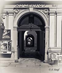 Wien - Vienna - Siebensterngasse - Adlerhof (Alexander Pangl) Tags: vienna wien bw lumix panasonic sw adlerhof siebensterngasse dmclx100