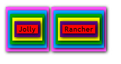 Jolly Rancher (Pictures from my software @ RalphCorbett.com) Tags: shadow color art design comedy box humor free css jolly rancher html rotate tagcloud jquery wordle boxshadow wordshadow wordshadows