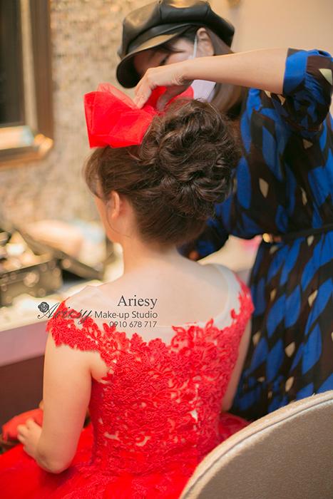 Ariesy,愛瑞思,愛瑞思造型團隊,新娘造型,新娘髮型,韓風造型,新娘秘書,新秘推薦,東方文華