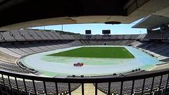 Estadi Olimpic Lluis Companys (JeeyBYGS) Tags: barcelona espaa sport video spain bcn jo estadio catalunya espagne stade barcelone olympique olimpic catalogne estadi videooftheday