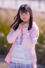 breeze in autumn (oceanT) Tags: pink portrait model  natsuki yanase