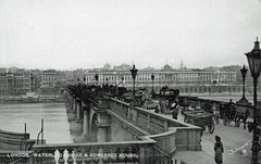 Waterloo Bridge (Leonard Bentley) Tags: uk london somersethouse riverthames victoriaembankment 1911 1815 dukeofwellington waterloobridge 1907 1817 kingswaytramtunnel battleofwaterloo johnrennie strandbridge