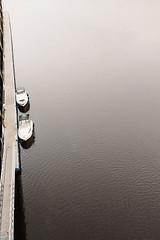 About Boats (mecenas zielon) Tags: city uk travel bridge england water river newcastle 50mm boat town view pleasures allforfun wojciechzielenkiewicz