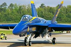 162897  F/A-18A  FDS Blue Angels  No.3 (RedRipper24) Tags: blueangels nasoceana virginiabeachva fa18a kntu apollosoucekfield nasoceana2007airshow