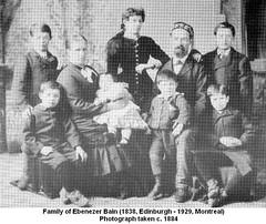 Ebenezer Bain Family