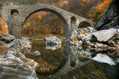 The Devil's Bridge (hapulcu) Tags: bridge autumn bulgaria bulgarie devilsbridge bulgarien bulgaristan thrace българия trakya тракия θράκη diavolskimost