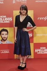 """Angy en la premiere de """"Ocho apellidos catalanes"""" en Madrid"""
