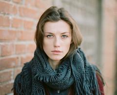 Ulana. (vladimir_romansky) Tags: portrait people film girl pentax kodak bokeh tmax indoor push medium format 6x7 67 105mm pentax67