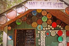 (K. Sawyer Photography) Tags: museum folkart roadsideattraction hotsauce abitamysteryhouse paintcanlids abitaspringslouisiana hotsaucehouse