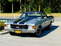 Chevrolet - El Camino (Look @ Life) Tags: auto usa canada chevrolet car waterfall wasserfall camino muscle united el niagra falls american states kanada niagaraflle