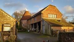 Oast House at Heaven Farm, East Sussex (andreboeni) Tags: farmbuilding oasthouse