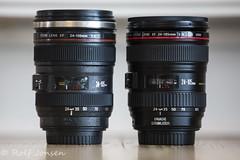 Mug vs original lens (rjonsen) Tags: cup canon lens eos replica mug ef 24105 24105l