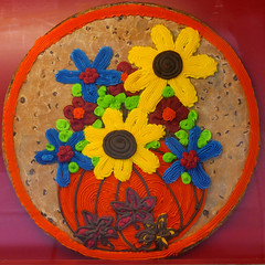 flowers (Leo Reynolds) Tags: xleol30x squaredcircle cookie cake decoration panasonic lumix fz1000 sqset124 xx2015xx sqset