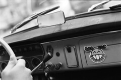 SAAB96 Dashboard - Classic Cars (Analog World Thru My Lenses) Tags: classic cars epson dashboard v800 saab96 rikenon50mmf14 ricohxr7 rolleirpx400 epsonv800