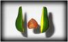 Avocado (J Michael Hamon) Tags: avocado alligatorpear fruit levitate levitating float floating light lighting shadow stilllife photomanipulation trickphotography vignette hamon nikon d3200 nikkor 40mm green fineart novelty surreal surrealism