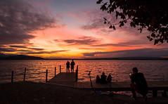 Afterglow (He_Da) Tags: zug zugersee lakezug lake switzerland afterglow abendrot abendstimmung eveningmood sunset sonnenuntergang sun sonne silhouette clouds colours cloudy
