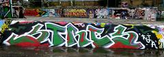 graffiti amsterdam (wojofoto) Tags: amsterdam graffiti streetart nederland netherland holland wojofoto wolfgangjosten ndsm stres