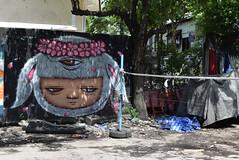 The Umpire - Phayathai, Bangkok (jcbkk1956) Tags: ratchathewi phayathai takraw 1855mmf3556 d3300 nikkor nikon court net streetart graffiti saensaeb thailand bangkok