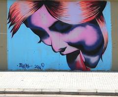 Tag-ada ! (Pi-F) Tags: tag peinture rue mur femme langue leche beyrouth trottoir dessin