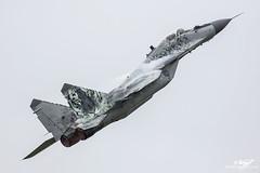 Mikoyan-Gurevich MiG-29AS Fulcrum 0921 - Slovakian Air Force - Luchtmachtdagen 2016 (BenSMontgomery) Tags: mikoyangurevich mig29as fulcrum 0921 slovakian air force luchtmachtdagen 2016 leeuwarden mig29