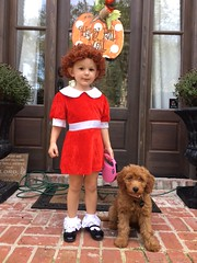 Shelby's Annie is ready for Halloween!