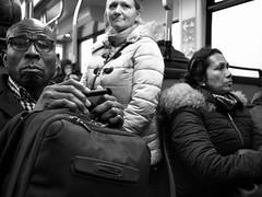 Like Sardines (RobK Street Photography) Tags: denhaag city dagelijksleven dailylife nederland publictransport straatfotografie streetphotography thehague thenetherlands tram travelers