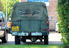 FFL 362V (Nivek.Old.Gold) Tags: land rover 109 series 3 softtop 2495cc army