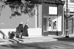 2 + 2 (Jeff Hayward (@pointandwrite)) Tags: street women bw pairs candid urban city